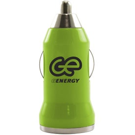 Compact USB Car Charger Branded with Your Logo