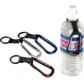Companion Water Bottle Carabiner for Advertising