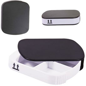 Four Compartment Pill Case for Your Organization