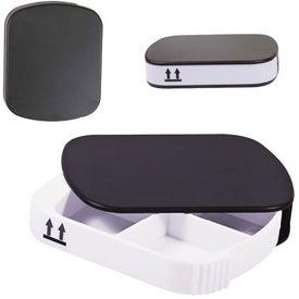 Four Compartment Pill Case