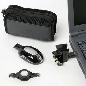 Monogrammed Computer Accessory Bag
