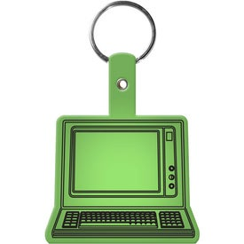 Imprinted Computer Key Tag