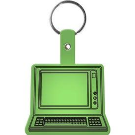 Imprinted Computer Key Tag
