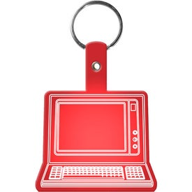 Computer Key Tag with Your Slogan