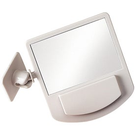 Imprinted Computer Mirror Memo Holder