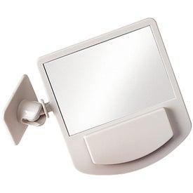 Imprinted Computer Mirror Memo Holder