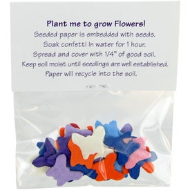Shaped Seeded Paper Confetti Giveaways