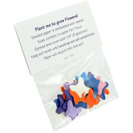 Shaped Seeded Paper Confetti for Your Company