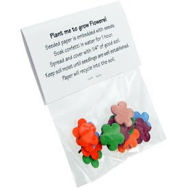 Promotional Shaped Seeded Paper Confetti