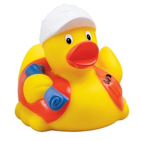 Construction Worker Rubber Ducks