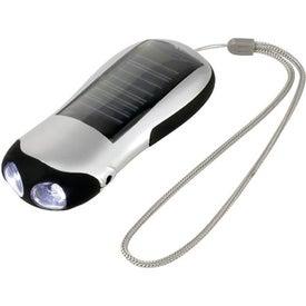 Contour Solar Flashlight for Customization