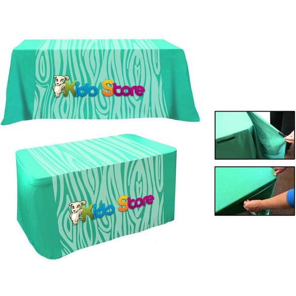 Full Color Imprint Convertible Table Cover