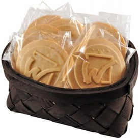 Cookie Gift Basket with Your Slogan