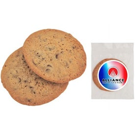 Cookie with Colorful Label for Promotion