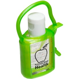 Customized Cool Clip Hand Sanitizer