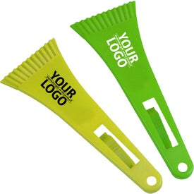 "Logo Cool Color Change 9"" Ice Scraper"