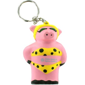 Cool Pig Key Chain Stress Reliever for Your Church