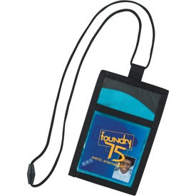 Cool Wave Neck Wallet Printed with Your Logo