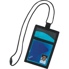 Cool Wave Neck Wallet for Marketing