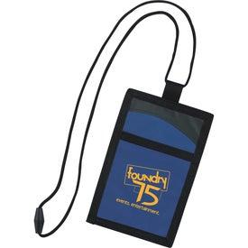 Branded Cool Wave Neck Wallet