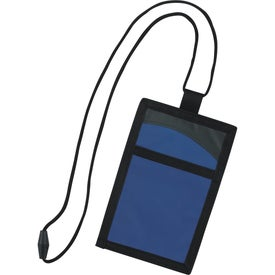 Cool Wave Neck Wallet for Promotion