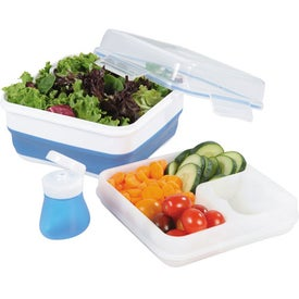 Cool Gear Collapsible Salad To Go Set for Customization
