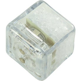 Personalized Clear Ultra Glow Ice Cube