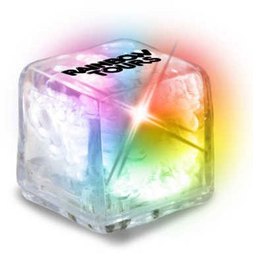 Ultra Glow Ice Cube with Color Changing LED
