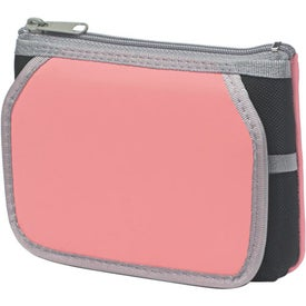 Company Cosmetic Case With Mirror