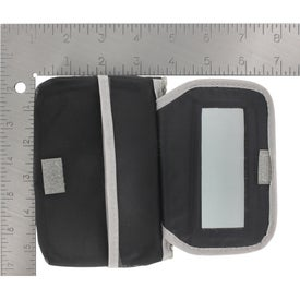Branded Cosmetic Case With Mirror