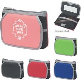 Promotional Cosmetic Case With Mirror