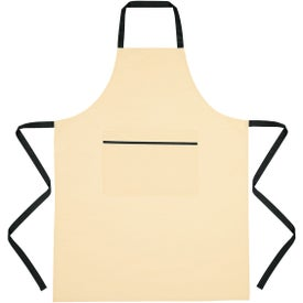 Cotton Cooking Apron (Embroidered)