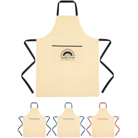 Cotton Cooking Apron (Screen Printed)