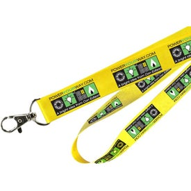 "Cotton Lanyard (1/2"")"