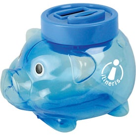 Promotional Counting Pig Bank