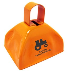 Branded Cowbell