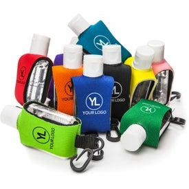 Logo Cozy Clip Hand Sanitizer