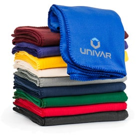 Customizable Cozy Fleece Blanket