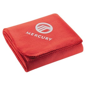Cozy Fleece Blanket for Your Company
