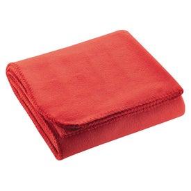 Cozy Fleece Blanket with Your Slogan
