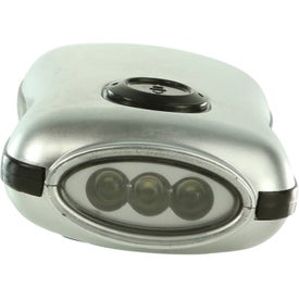 Personalized Crank Flashlight