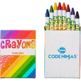 8 Color Crayon Pack