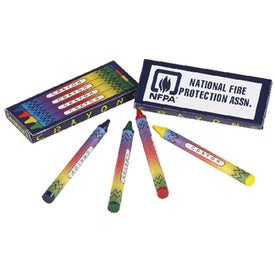 4 Color Non-Toxic Crayon Packs