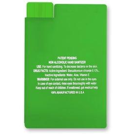 Credit Card Shape Hair Spray for Customization