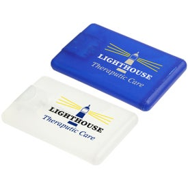 Company Credit Card Hand Sanitizer