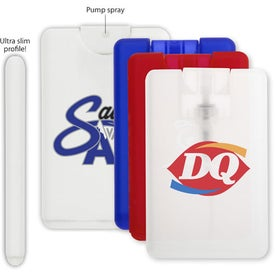 Personalized Credit Card Hand Sanitizer