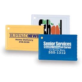 Customizable Credit Card Ice Scraper for Your Organization