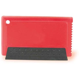 Credit Card Ice Scraper and Squeegee for Your Company