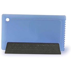 Credit Card Ice Scraper and Squeegee for Customization