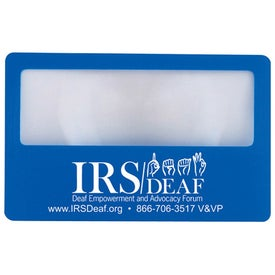 Credit Card Magnifiers for Your Organization